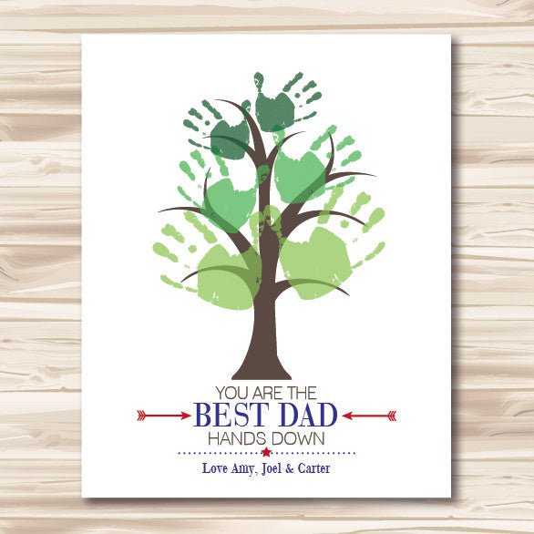 Father's Day Best Dad DIY Downloadable File