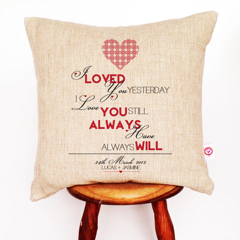 Love Is All You Need Wall Hanging