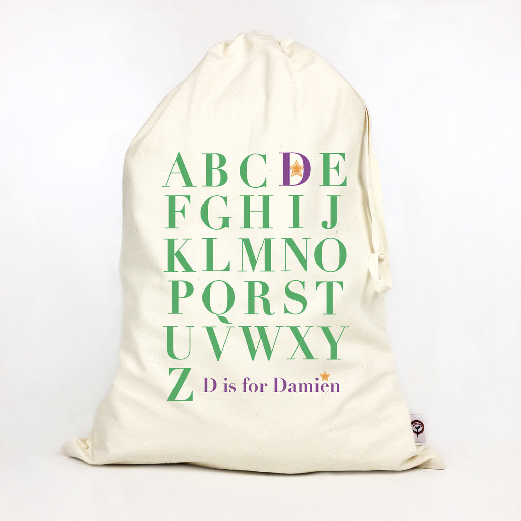 A-Z Storage Bag (Damien)