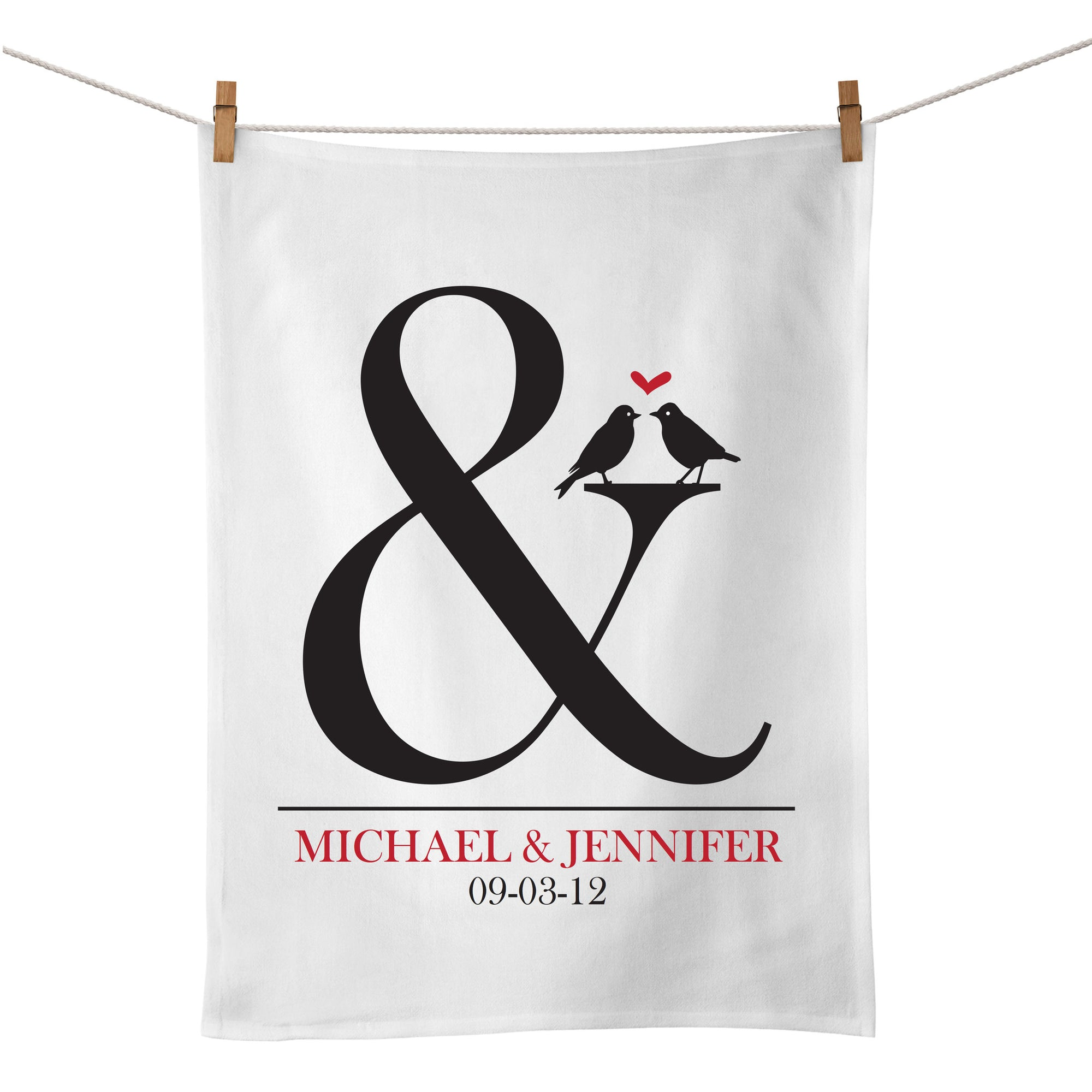 Ampersand Tea Towel