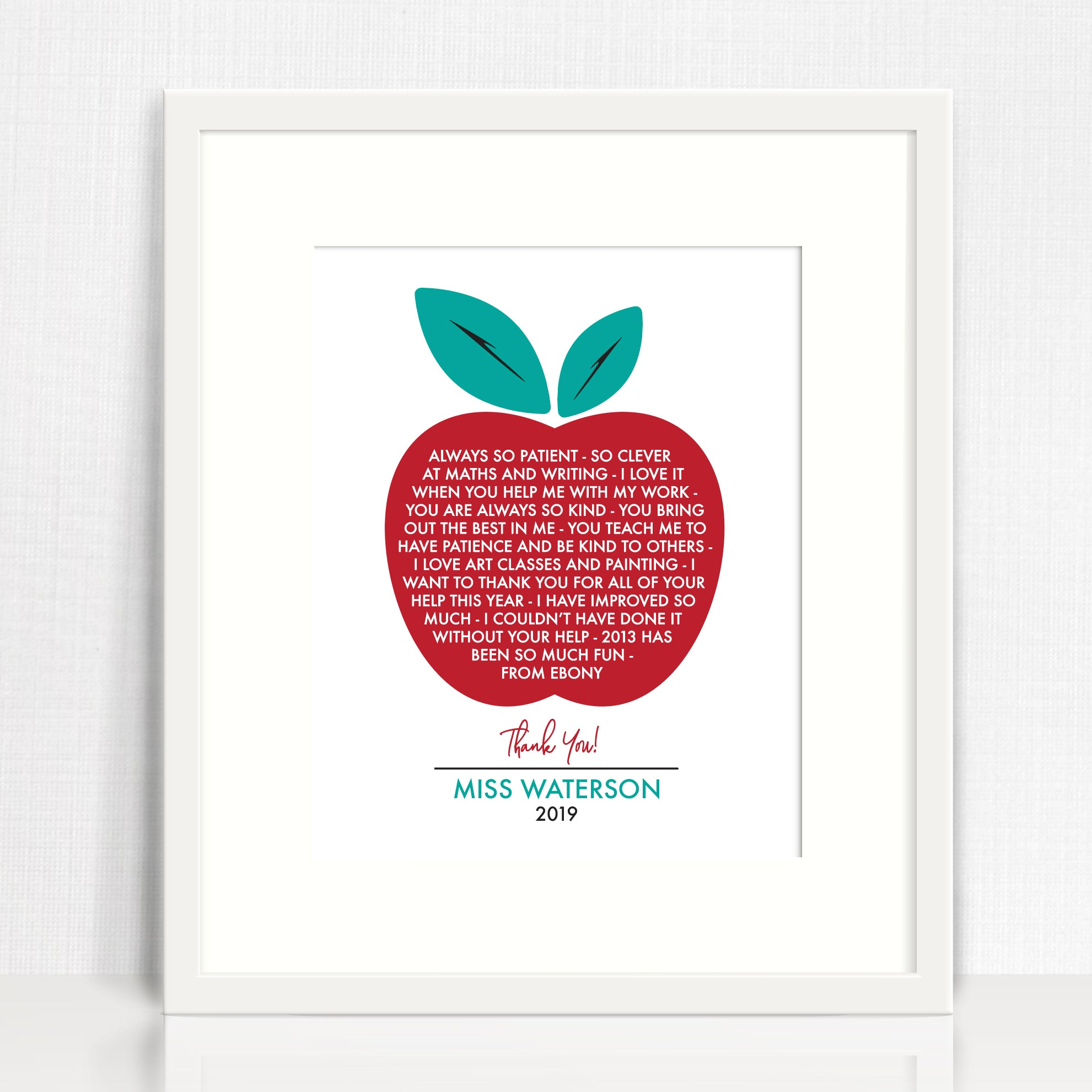 An Apple A Day Print