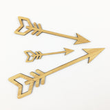 Arrows - set of 3