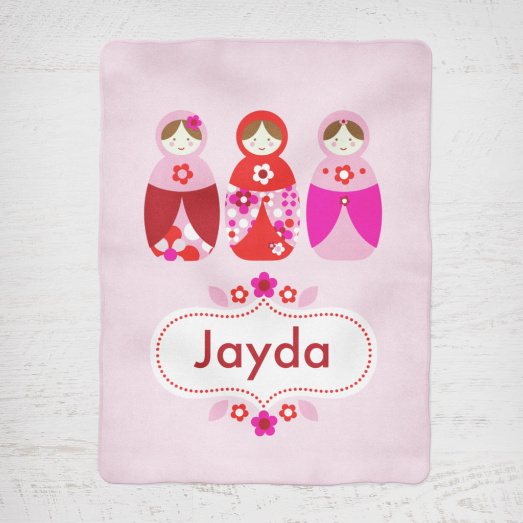 Jayda Personalised Blanket
