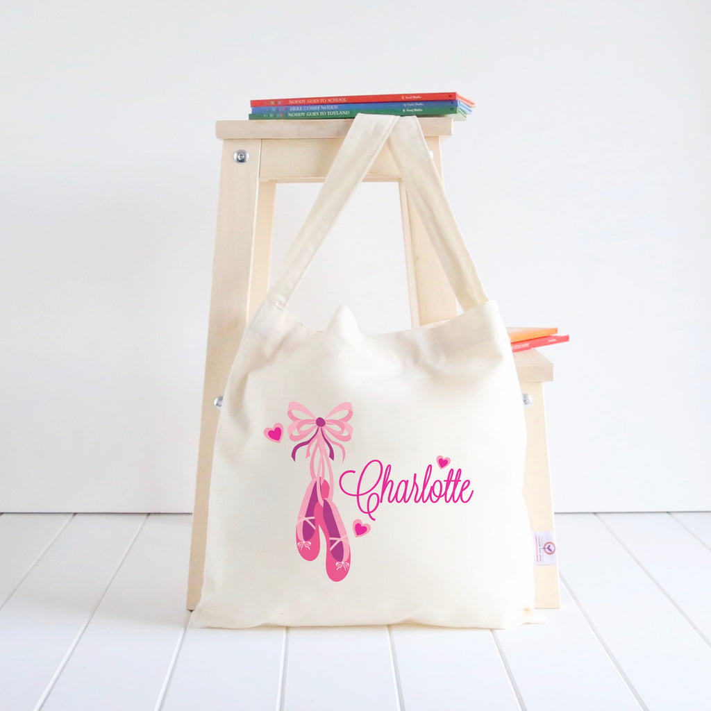 Ballerina Shoes Library Bag
