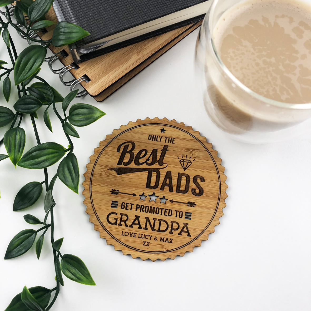 Only The Best Dads Drink Coaster