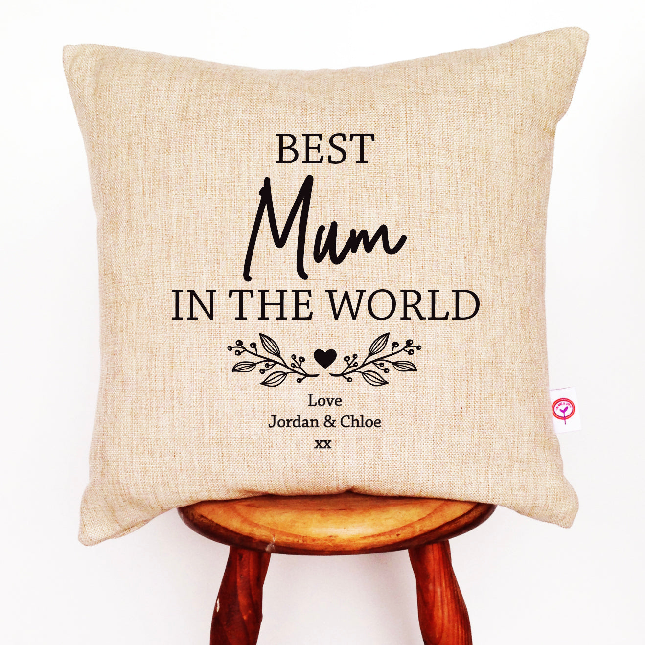 Best Mum In The World Cushion Cover