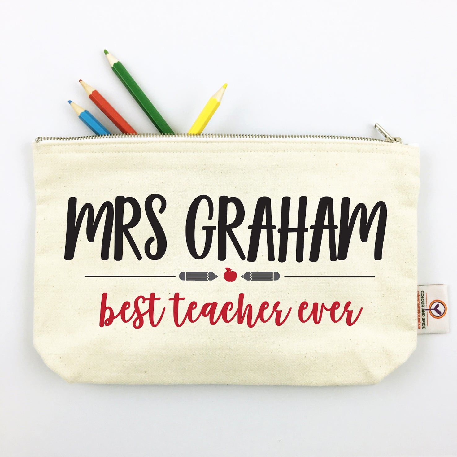 Best Teacher Ever Pencil Case
