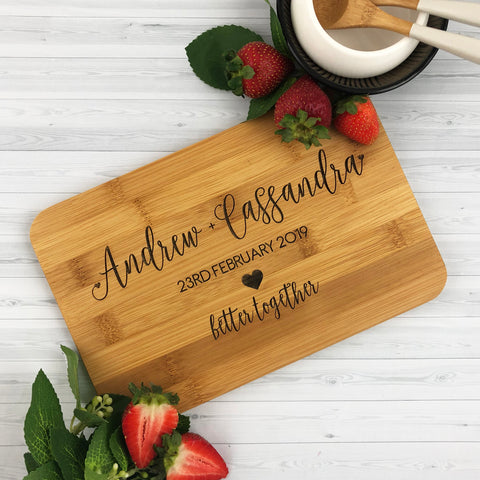 Initial Kitchen Personalised Wooden Spoon