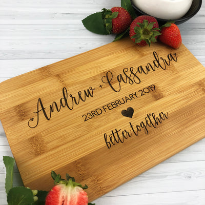Better Together Bamboo Serving Board