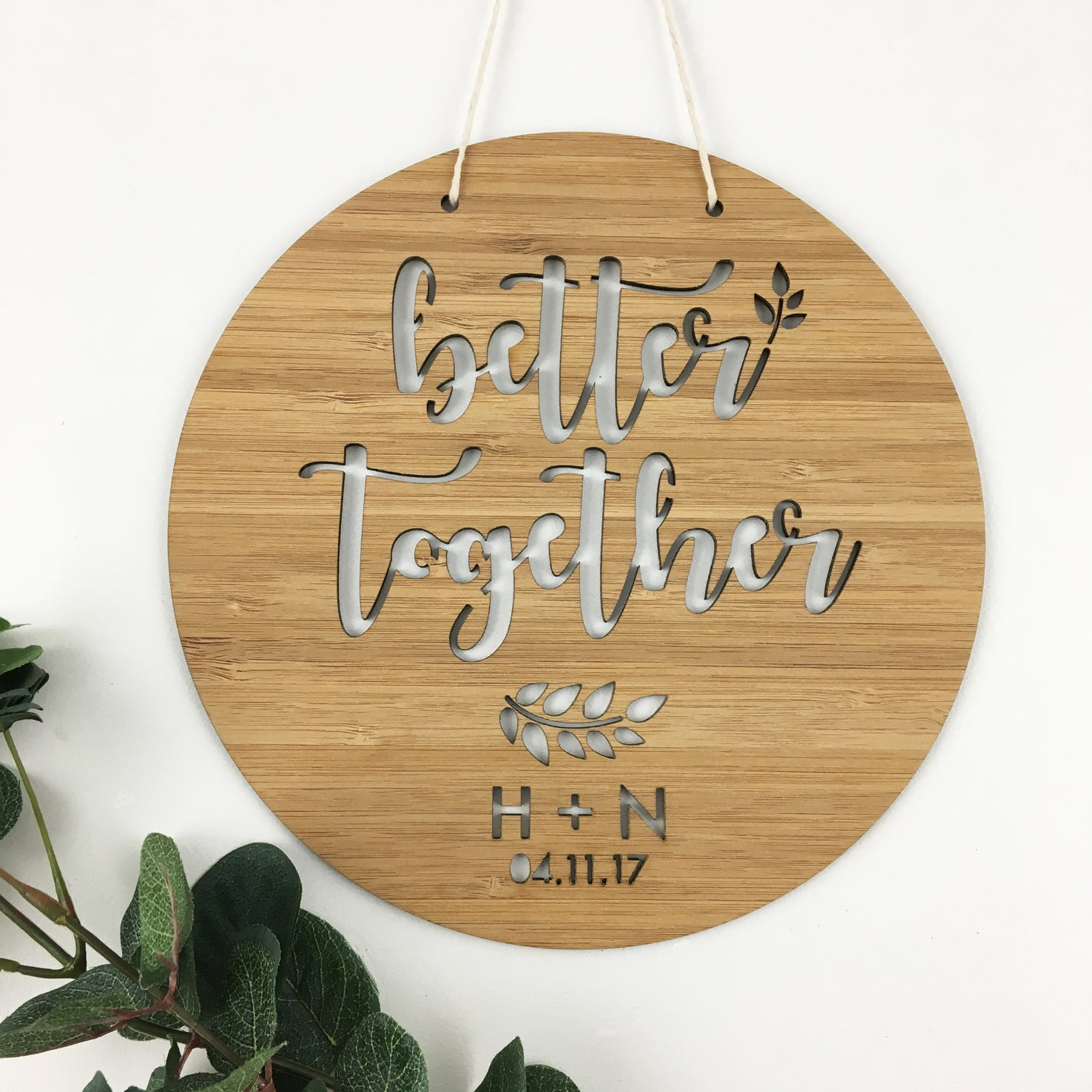 Better Together Wall Hanging