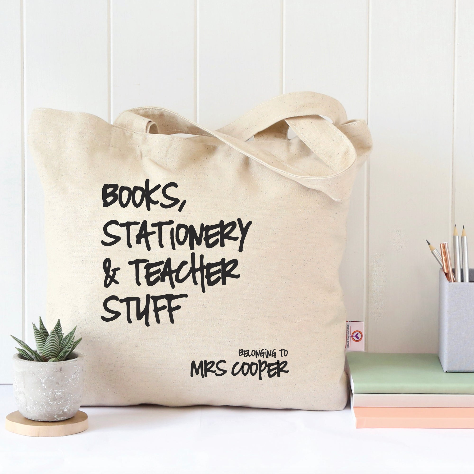 Books, Stationery & Teacher Stuff Teacher's Tote Bag
