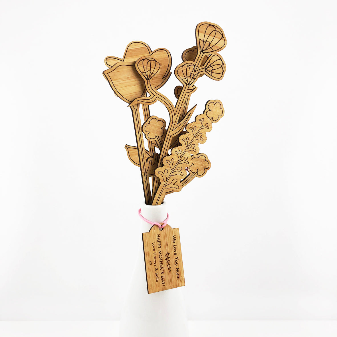 Botanicals Stems And Personalised Tag