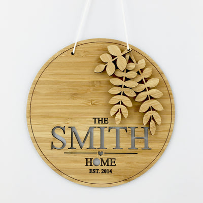 Branches Home 3D Wall Hanging