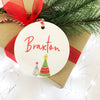 Bright Trees Name Ornament