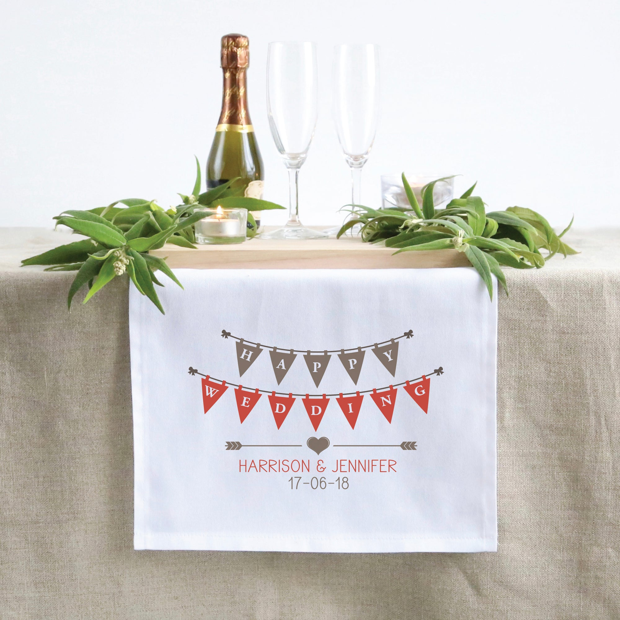 Bunting Table Runner (3 sizes)