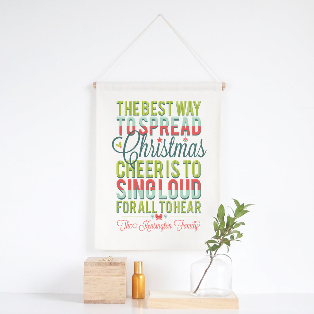 Christmas Cheer Wall Banner