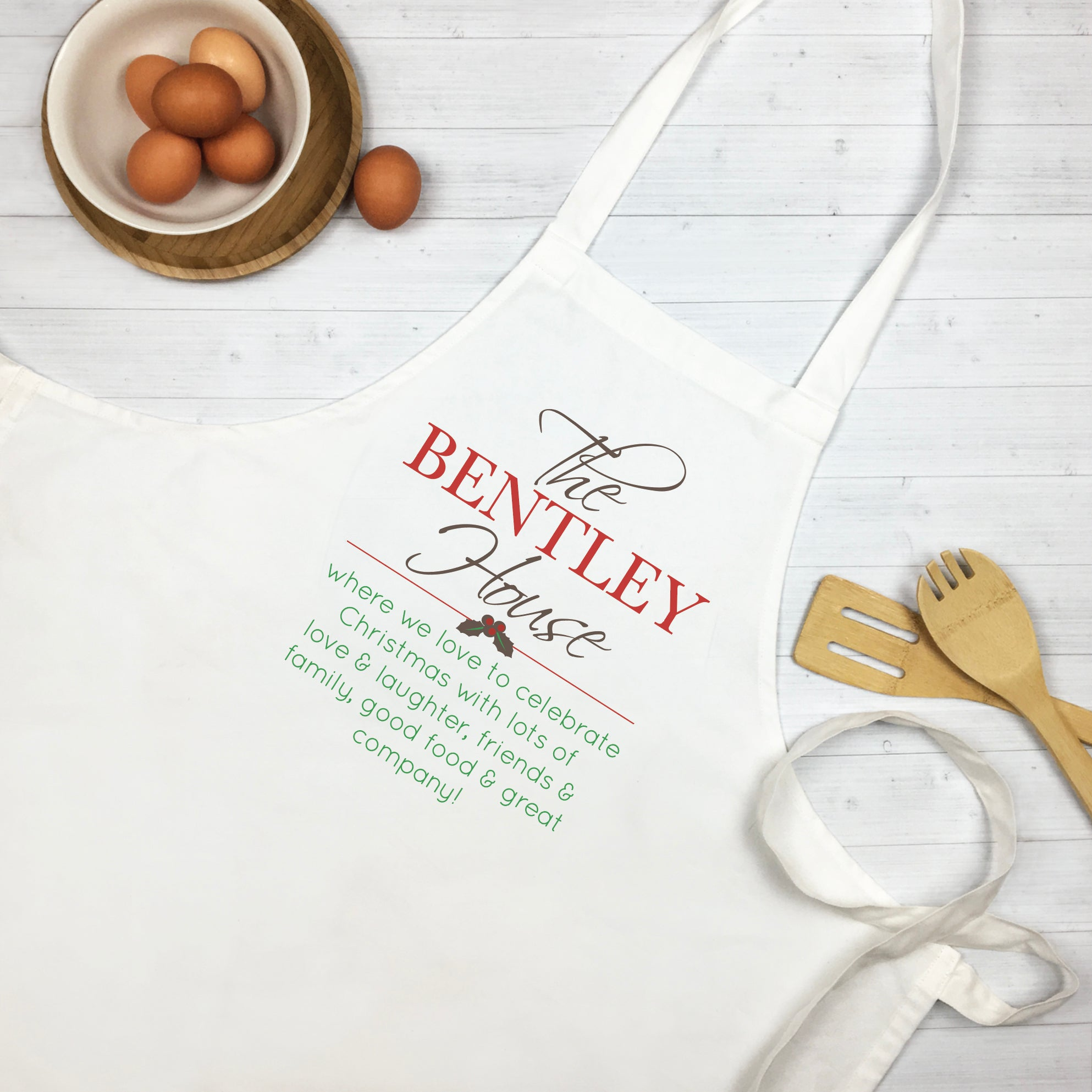 Christmas Kitchen Apron