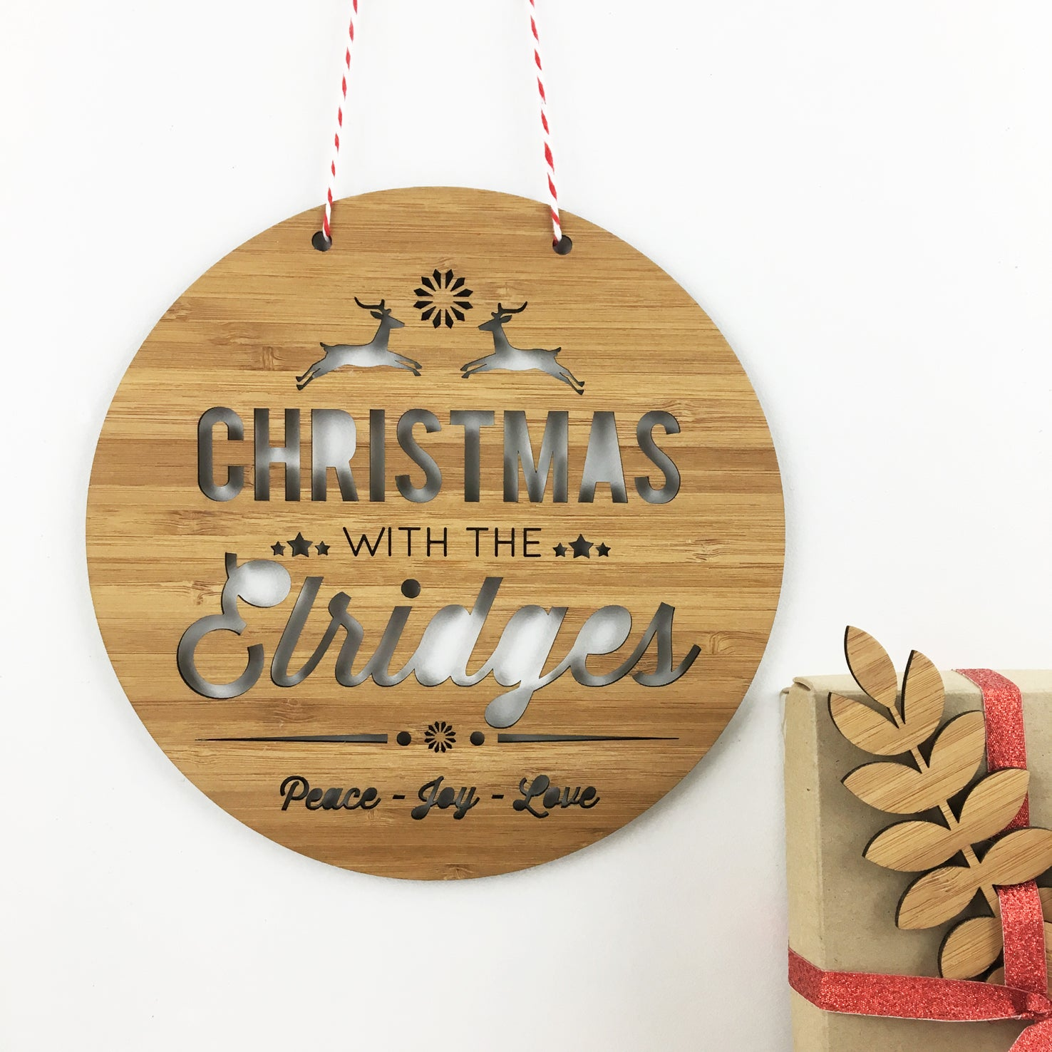 Christmas Personalised Wall Hanging