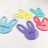Fun Colour Easter Bunny Name Tags