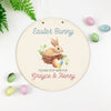 Easter Bunny Please Stop Here Printed Wall Plaque
