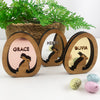 3D Egg Name Decorations - Mirror (3 colours)