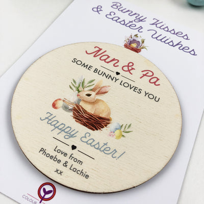 Personalised Easter Magnetic Token