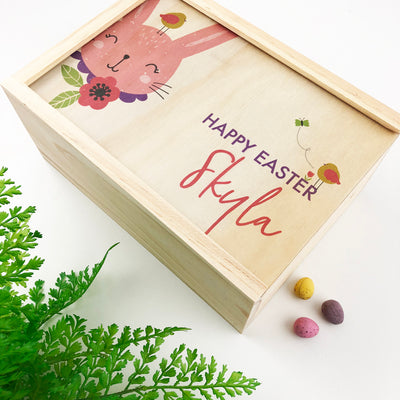 Personalised Easter Keepsake Box - Girls