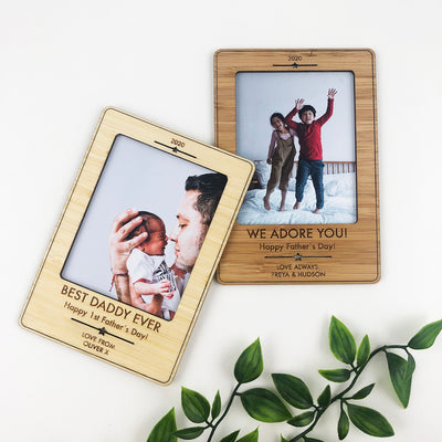 Father's Day Personalised Magnetic Frame