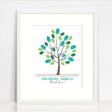 Teacher Finger Painted Tree (downloadable file)