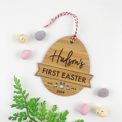 First Easter Bamboo Decoration