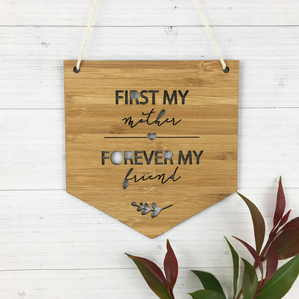 First My Mother Wall Hanging