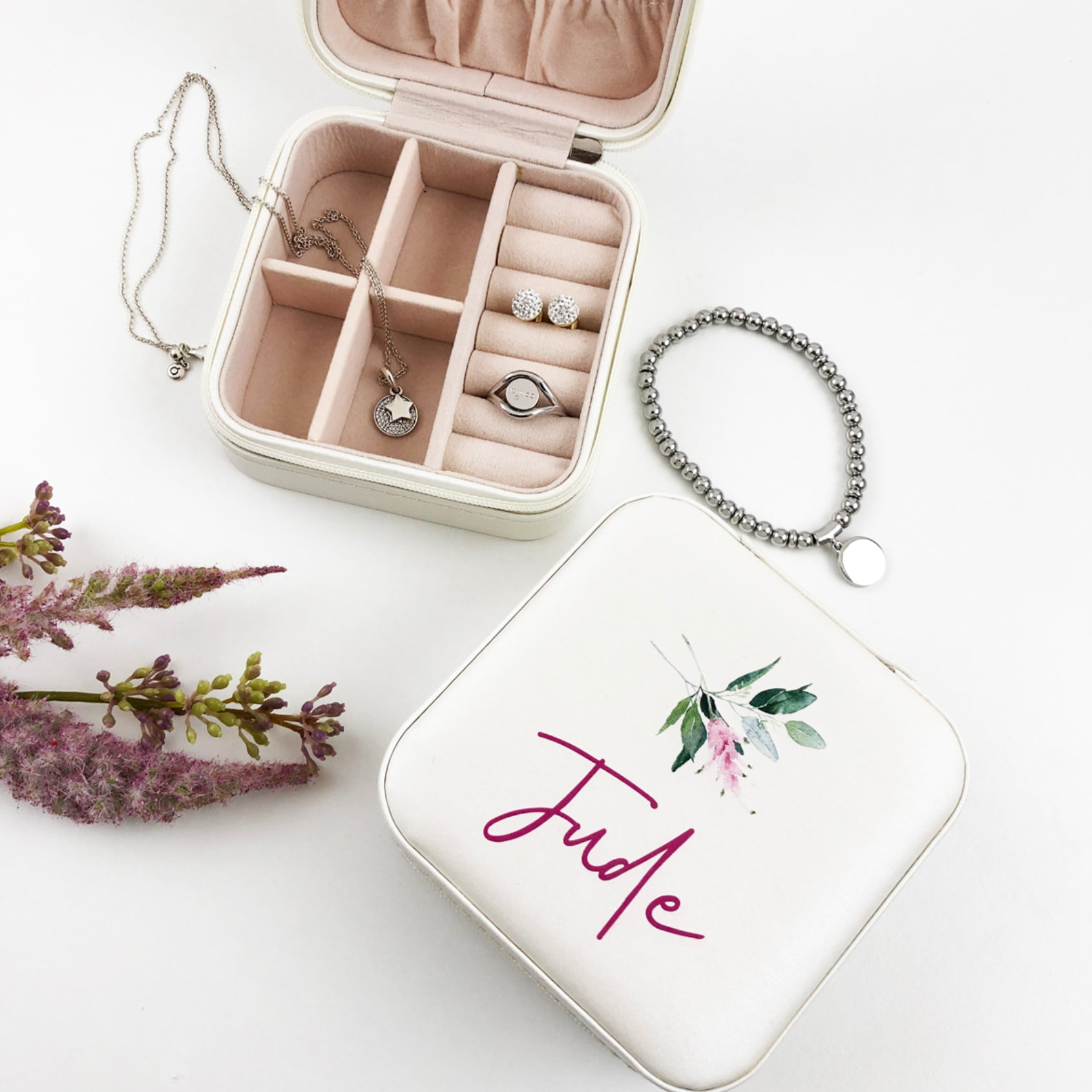 Floral Flourish Jewellery Case - (Limited Quantity)