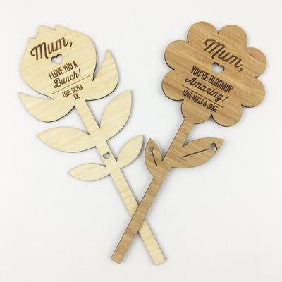 "Personalised ""You're Bloomin' Amazing!"" Bamboo Flower"