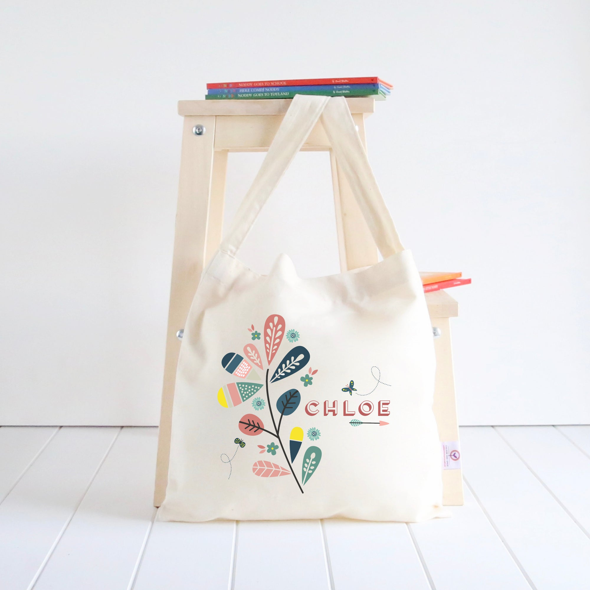 Foliage Library Bag