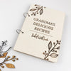 Delicious Recipes Botanical Notebook