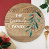 Personalised Festive Branch Grazing Platter