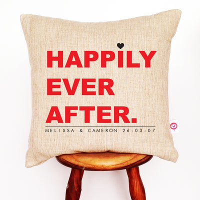 Happily Ever After Cushion Cover