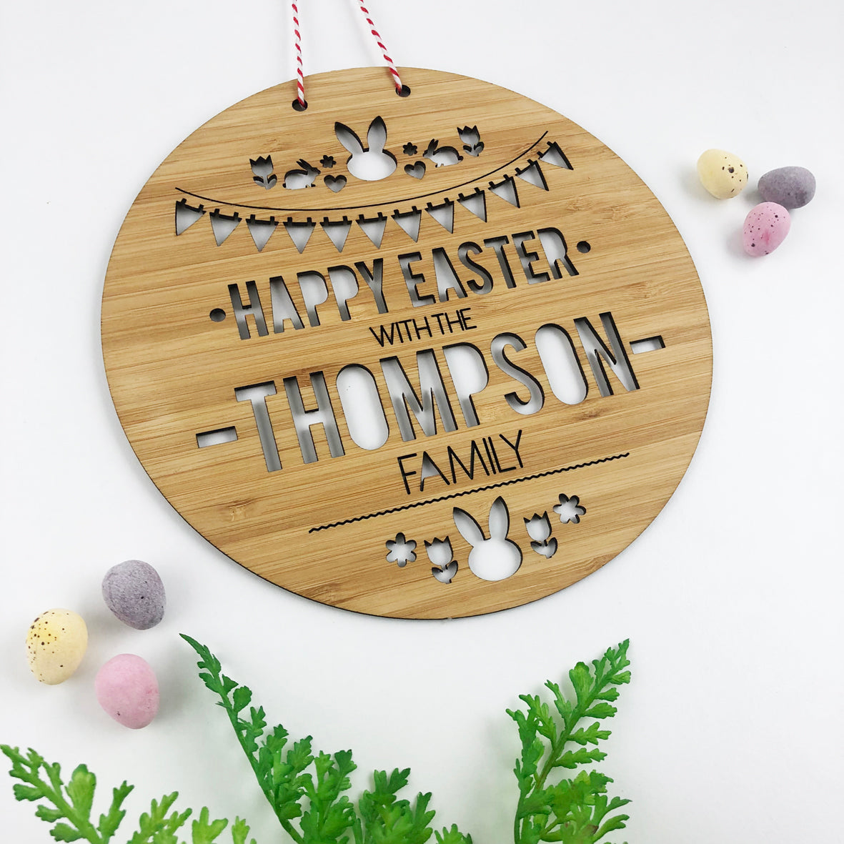 Easter Family Wall Hanging