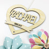 Heart Name Wall Hanging