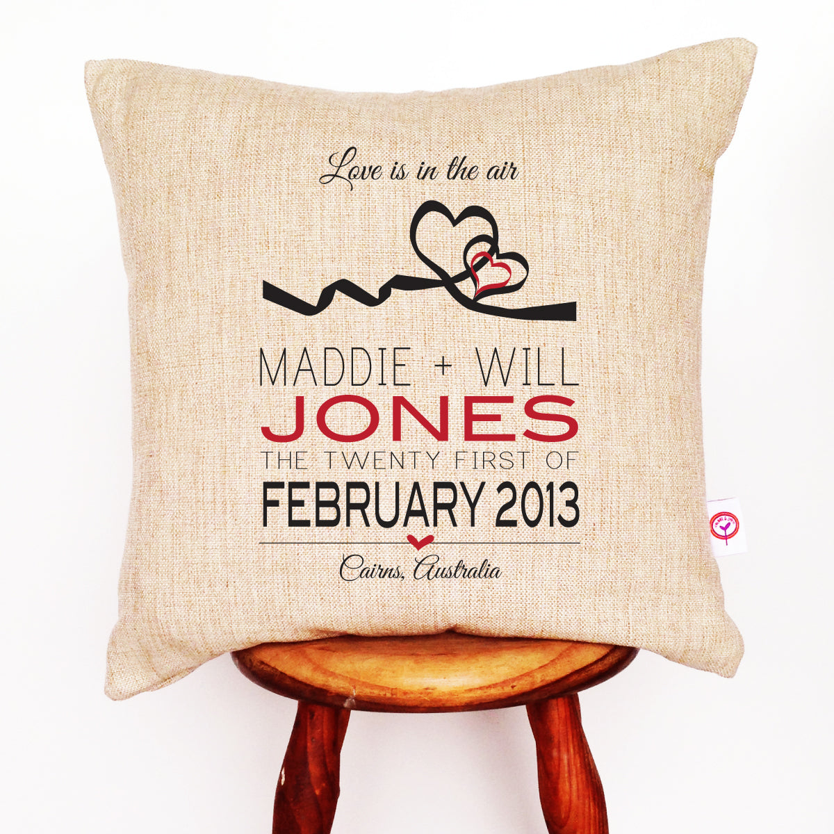 Hearts Cushion Cover