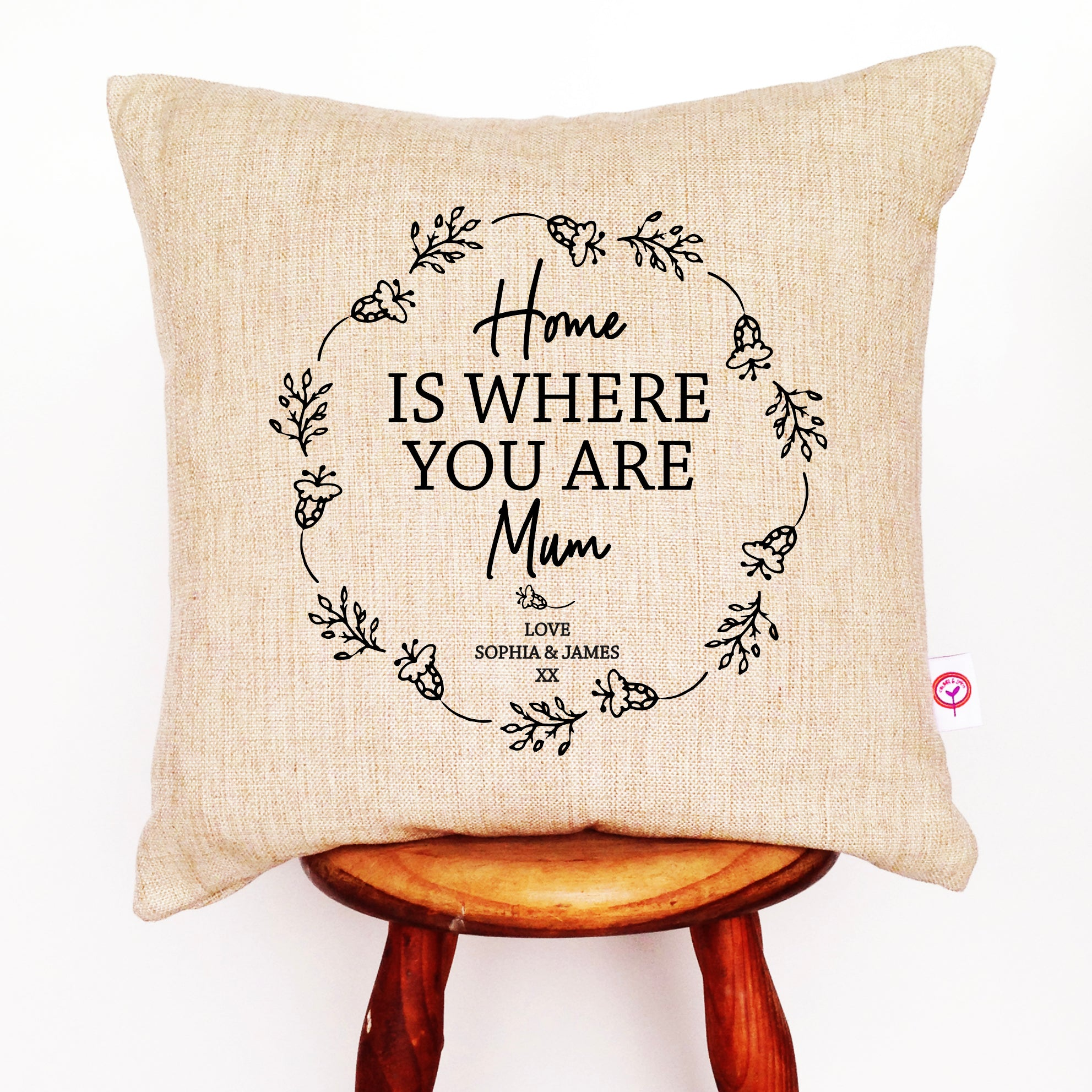 Home Is Where You Are Cushion Cover