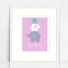 Hope Elephants Birth Print