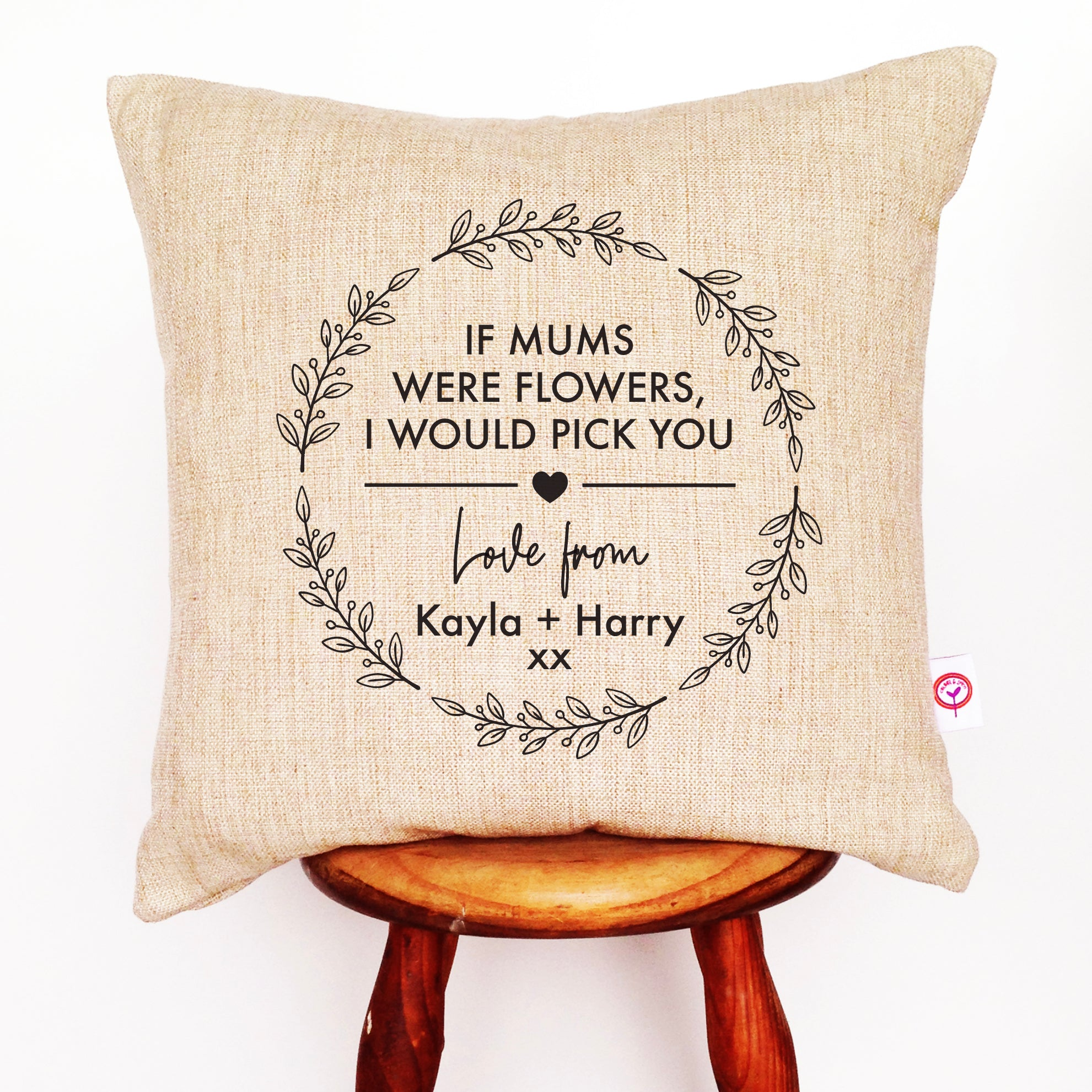 If Mums Were Flowers Cushion Cover