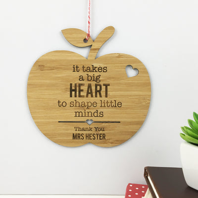 It Takes A Big Heart Wall Hanging