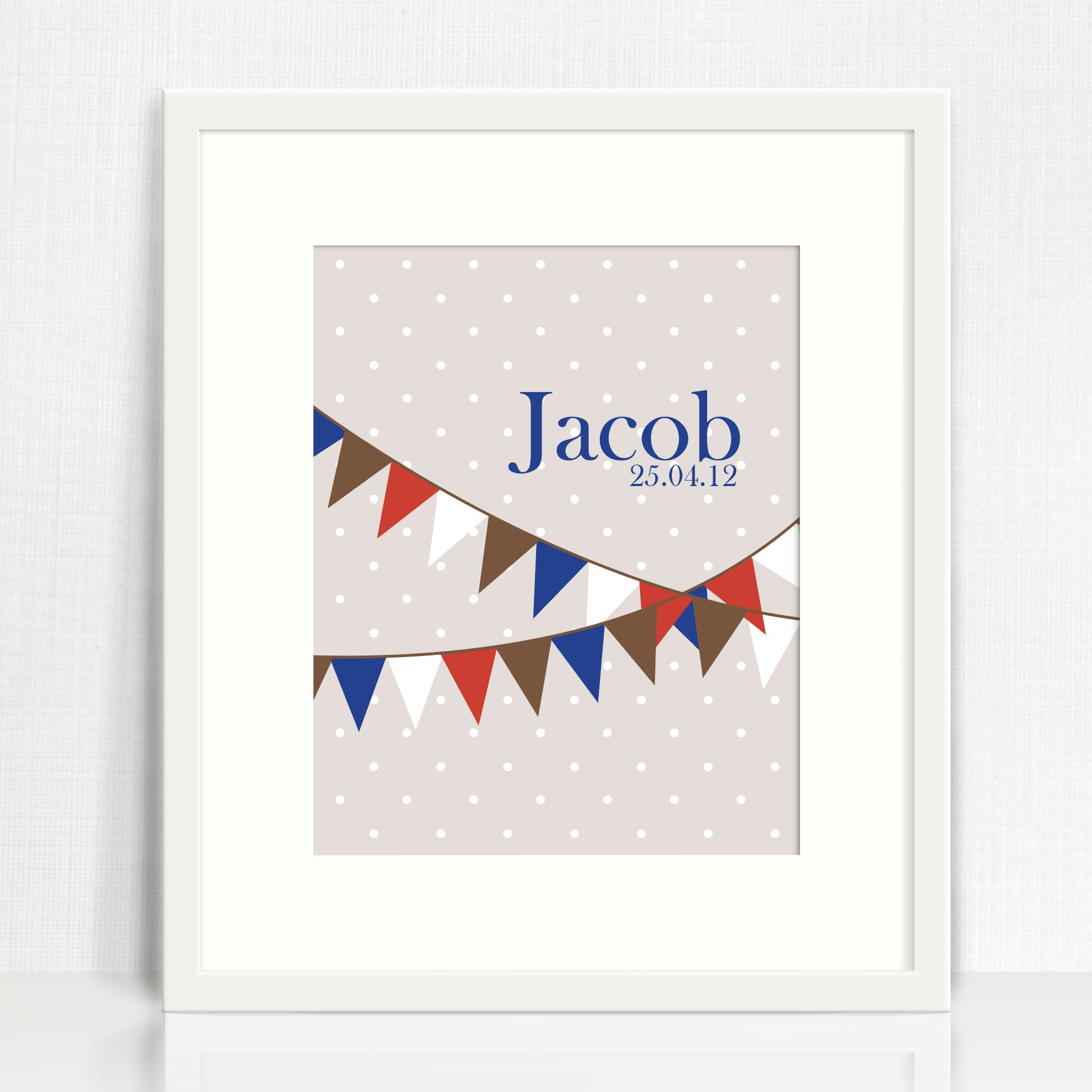 Jacob Bunting Name Print
