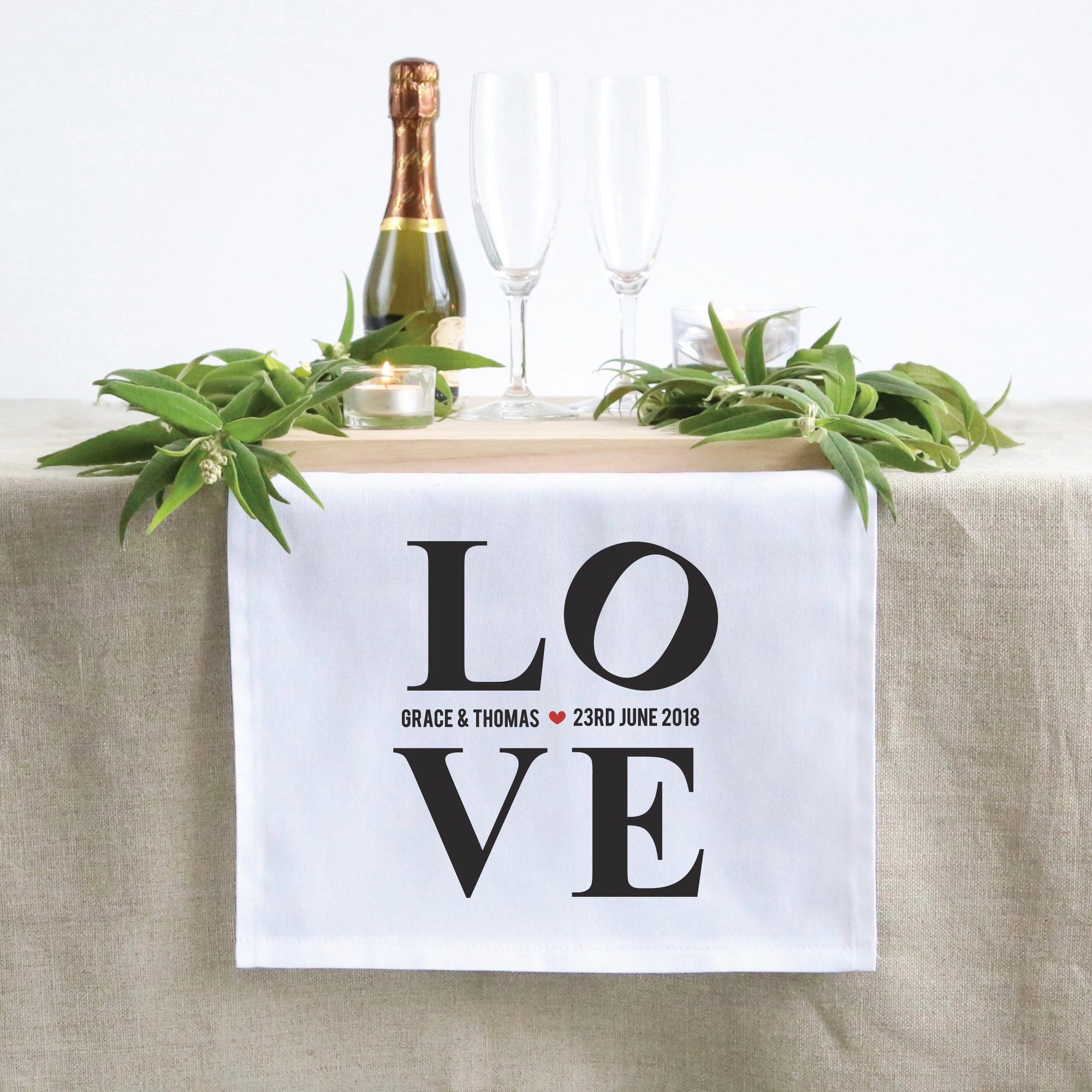 L.O.V.E Table Runner (3 sizes)
