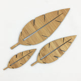 Pointy Leaves - set of 3