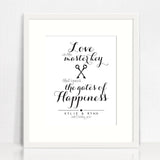 Love Is The Master Key Love Print