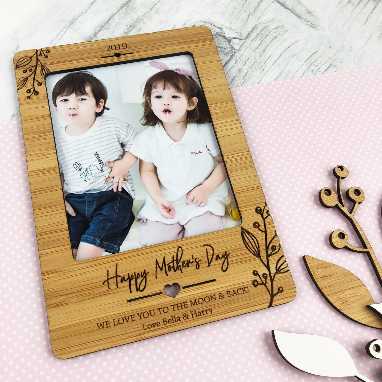 Flourish Personalised Magnetic Frame