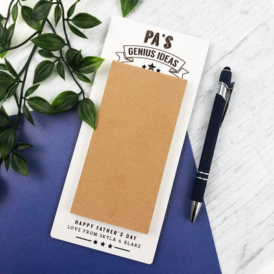 Personalised Magnetic Notepad
